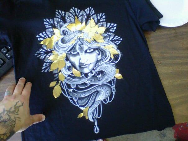 Foil Print for Guru Tattoo