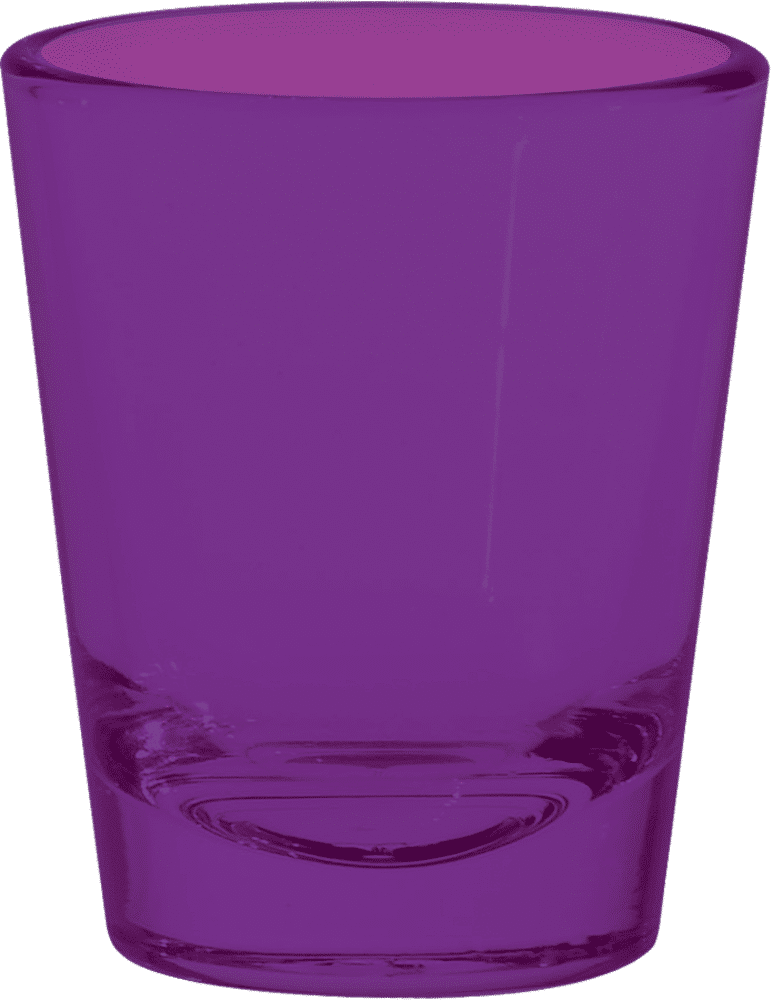 Purple Shot Glass