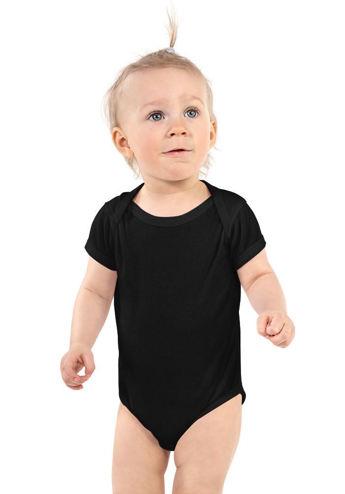 Baby Short Sleeve Bodysuit—Rabbit Skins 4400